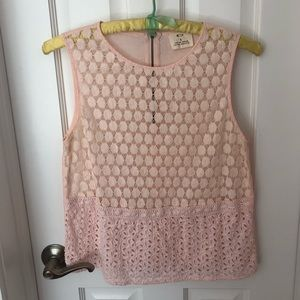 Urban Outfitters Light Pink Blouse